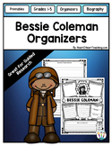 Bessie Coleman Research Organizers: Black History Month & Women's History Month