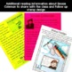 Bessie Coleman Black History Craft and Reading Activity