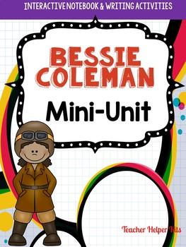 Bessie Coleman- Black History Month Activity