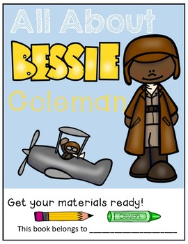 Bessie Coleman/Black History Month/Pilot - Biography/Study Guide