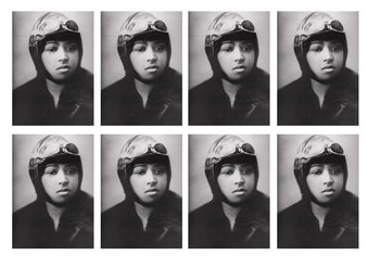 Bessie Coleman Comic Strip and Storyboard