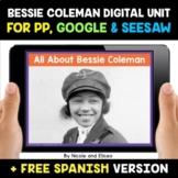 Bessie Coleman Digital Activities for Google and Seesaw -
