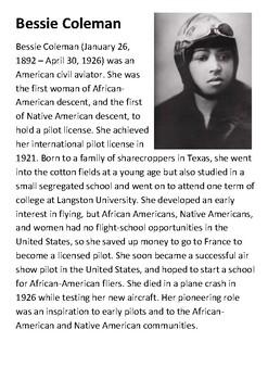 Bessie Coleman Handout