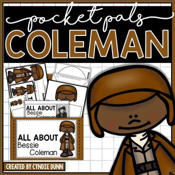 Famous Women Bessie Coleman Pocket Pal