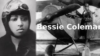 Bessie Coleman - Power Point African American woman pilot life story