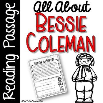 Bessie Coleman Reading Passage