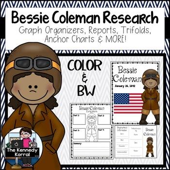 Bessie Coleman by The Kennedy Korral | Teachers Pay Teachers