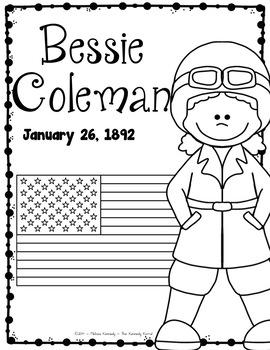 Bessie Coleman Research Report Bundle