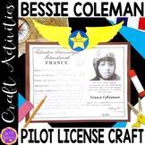 Bessie Coleman craft (Black History; aviation)