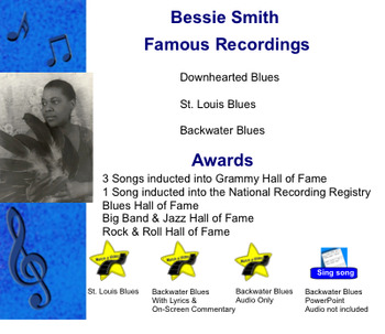 Bessie Smith & the Classic Blues Smart Notebook