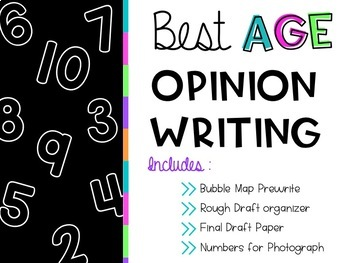 Best Age Opinion Writing