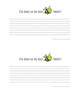 Best Bee-havior Note Home