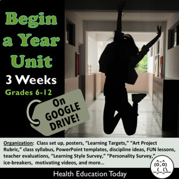Begin a Year Activities! Impactful BTS Lessons for Teachers of ANY Subject