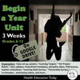 Begin a Year Activities! Impactful BTS Lessons for Teacher
