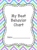 Best Behavior Sticker/Stamp Chart Set