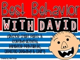 Best Behavior with David {Sorting Activity, Directed Drawing & Craft}