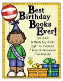 Best Birthday Books Ever! Easy Birthday Gifts from Classmates