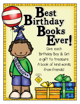 Best Birthday Books Ever! Easy, No Prep, Engaging, Meaningful!