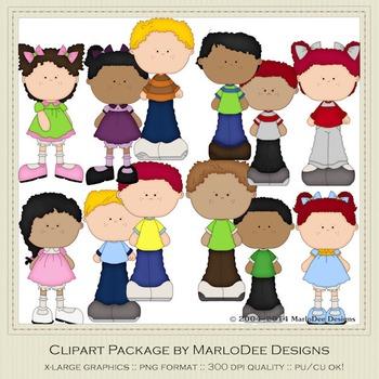 Best Buds Clip Art Graphics Set 3 by MarloDee Designs