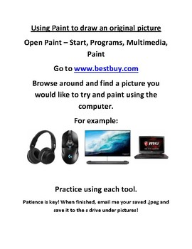 Best Buy Using Paint Internet Assignment