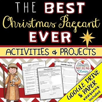 The Best Christmas Pageant Ever: Reading Response Activities and Projects