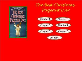 Best Christmas Pageant Ever SMART Response