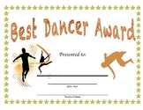 Best Dancer Award