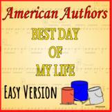 Best Day of My Life - Easy Version - Bucket Drumming Arrangement