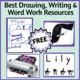 Best Drawing, Writing, and Word Work Resources