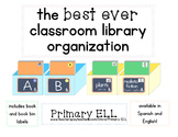 Best Ever Classroom Library Organization