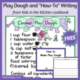 """Play Dough and """"How-To"""" Writing"""