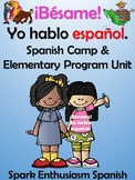 Best Ever Elementary Spanish Curriculum and Spanish Camp Book