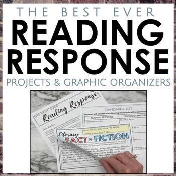 Reading Response Projects for Secondary ELA