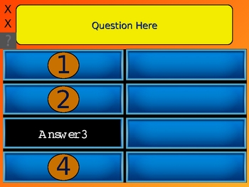 Best Family Feud 4 Answer Review Game PowerPoint