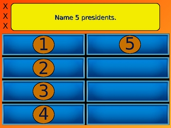 best family feud 5 answer review game powerpointmake history fun, Powerpoint templates