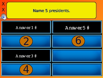 Best Family Feud Review Game Bundle! 6 Game Files! PowerPoint