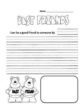 Best Friend Writing