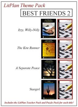 Best Friends 2 Theme Pack Novel Unit Bundle