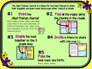 Best Friends Journal for Girls