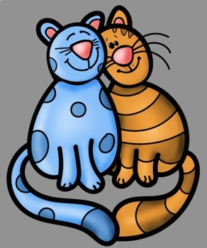 Best Friends Kids and Animals Clip Art - Whimsy Workshop Teaching