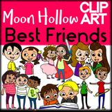 Best Friends - Moon Hollow Clip Art