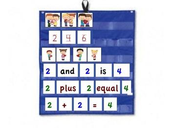 Best Friends Pocket Chart Math