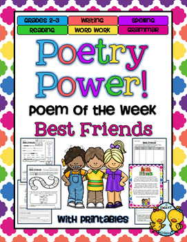Poem of the Week: Best Friends Poetry Power!