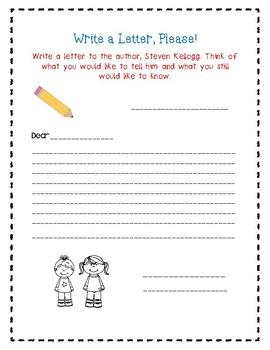 Best Friends by Steven Kellogg-A Book Companion Journal