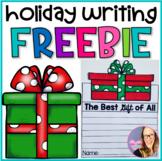 Holiday Writing Craft- FREEBIE