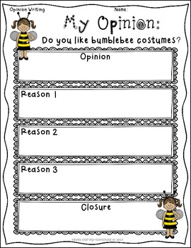 Best Halloween Costume:  Opinion Prompts for K-1