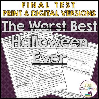 The Best Halloween Ever Final Test