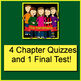 The Best Halloween Ever Novel Study Quiz and Test Bundle