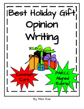 Holiday Opinion Argument Persuasive Writing * Graphic Orga