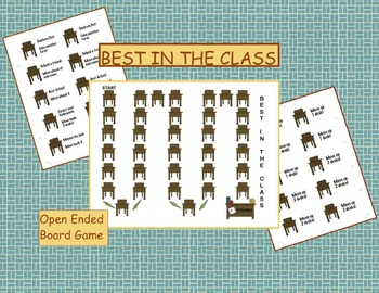 Best In The Class -Open Ended Board Game